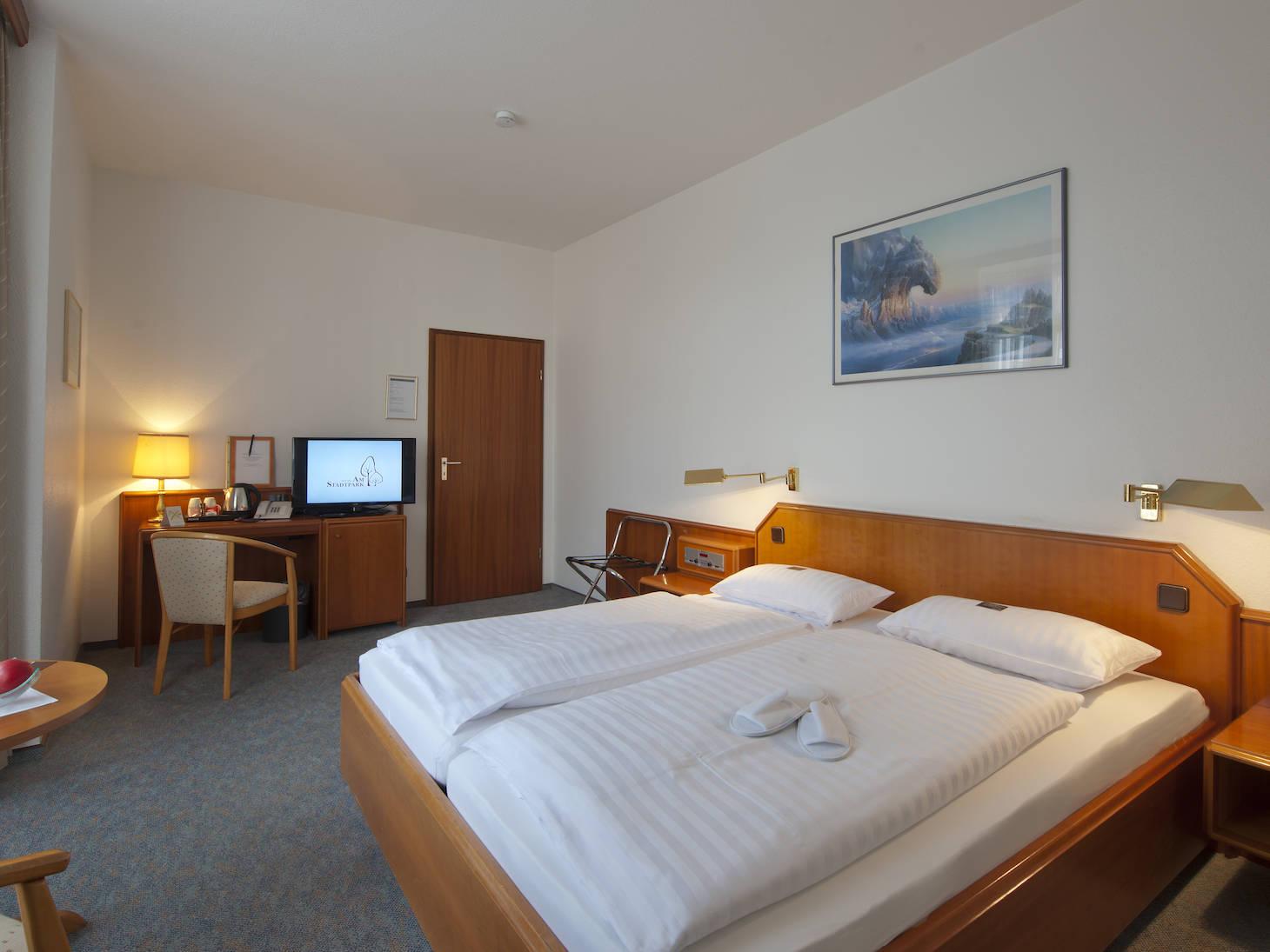 Zimmer Hotel am Stadtpark Buxtehude 3 uai