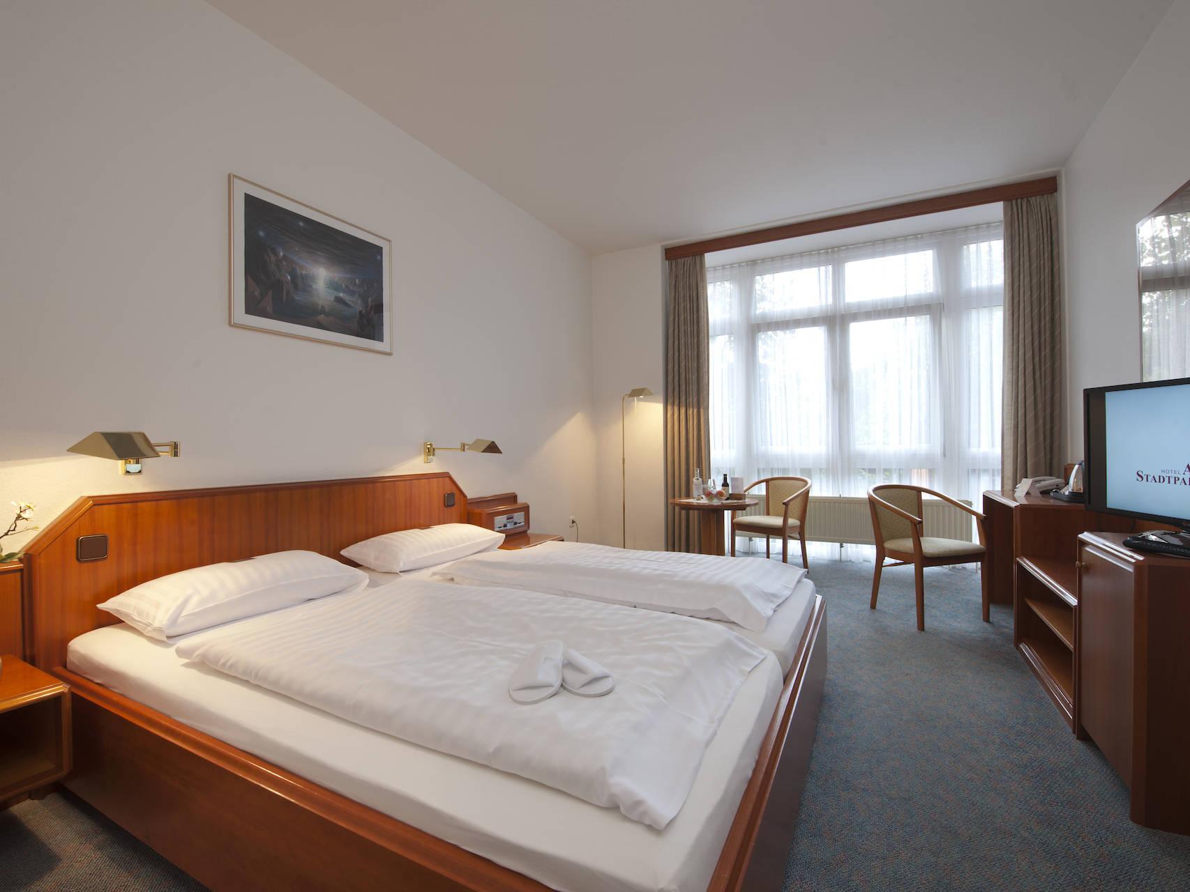 Zimmer Hotel am Stadtpark Buxtehude 4 uai