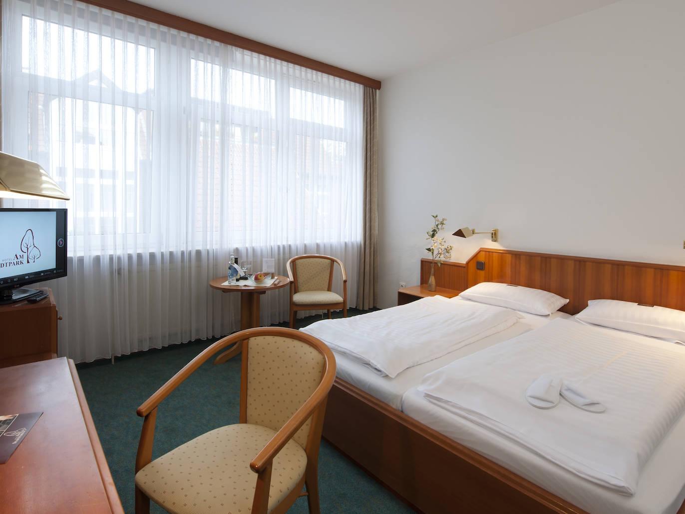 Zimmer Hotel am Stadtpark Buxtehude 7 uai